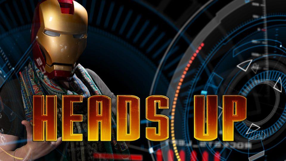 Heads Up VFX Masterclass - Iron Man heads-up-display tutorial