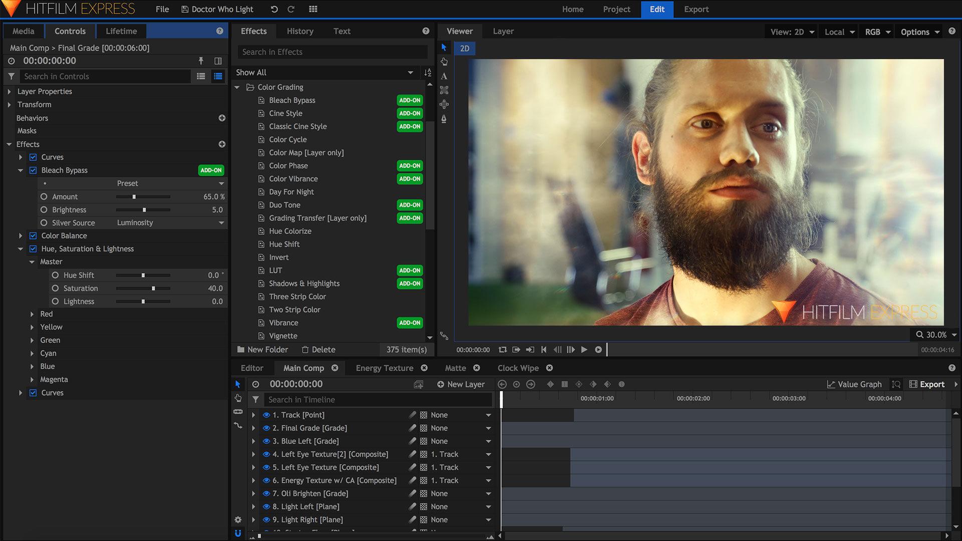 Using HitFilm Express' VFX to come up with short film ideas