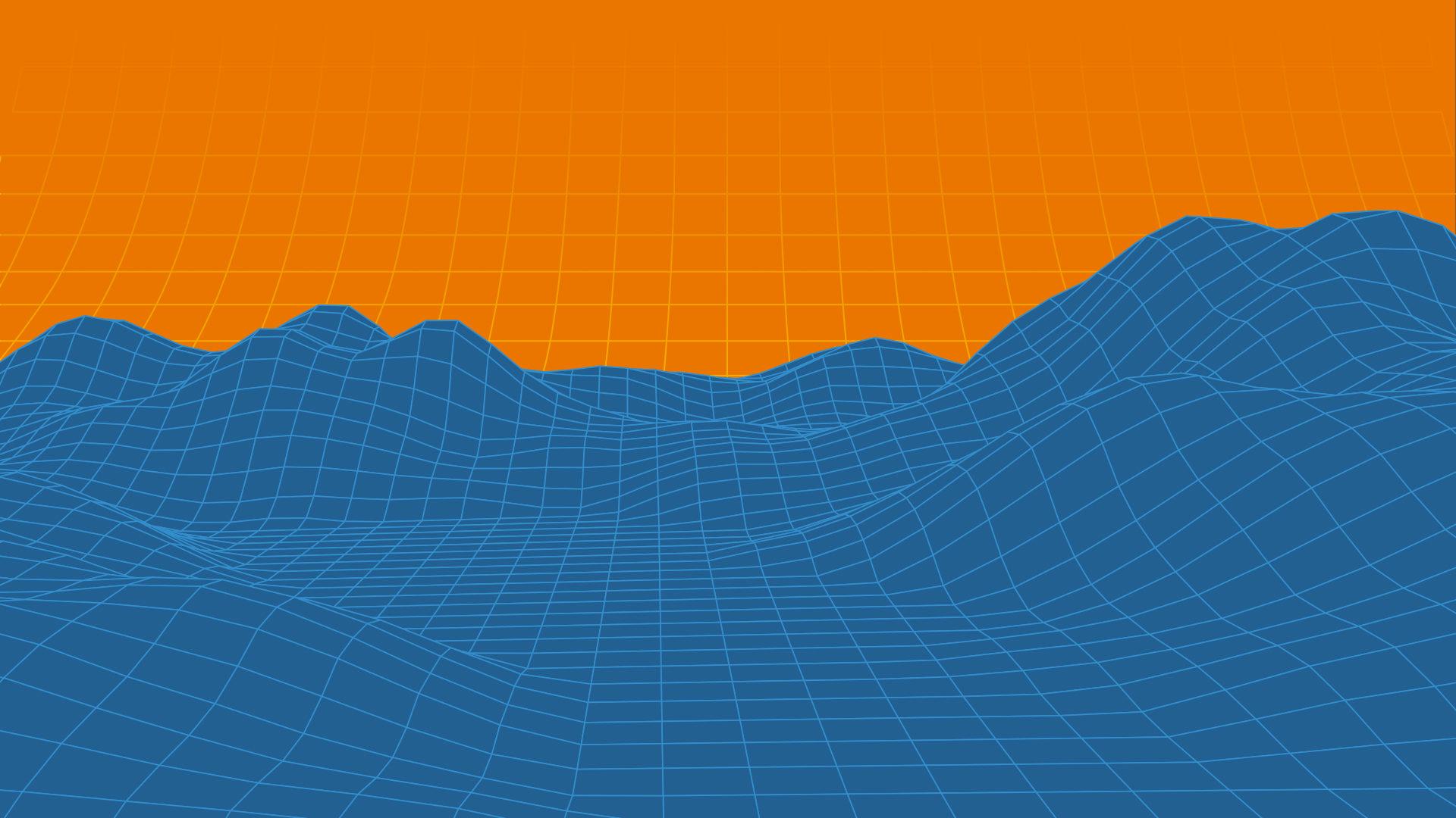 3D topology of environment topology - Blender for VFX masterclass