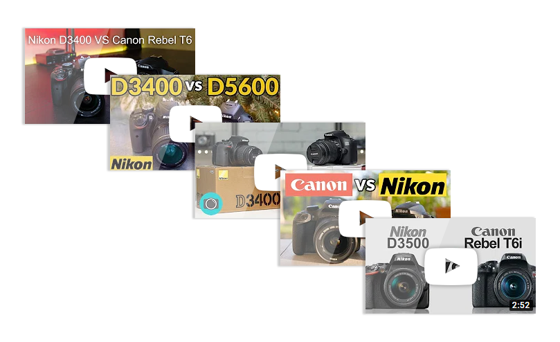 YouTube reviews on DSLRs - use YouTube reviews to choose the best video camera for beginners