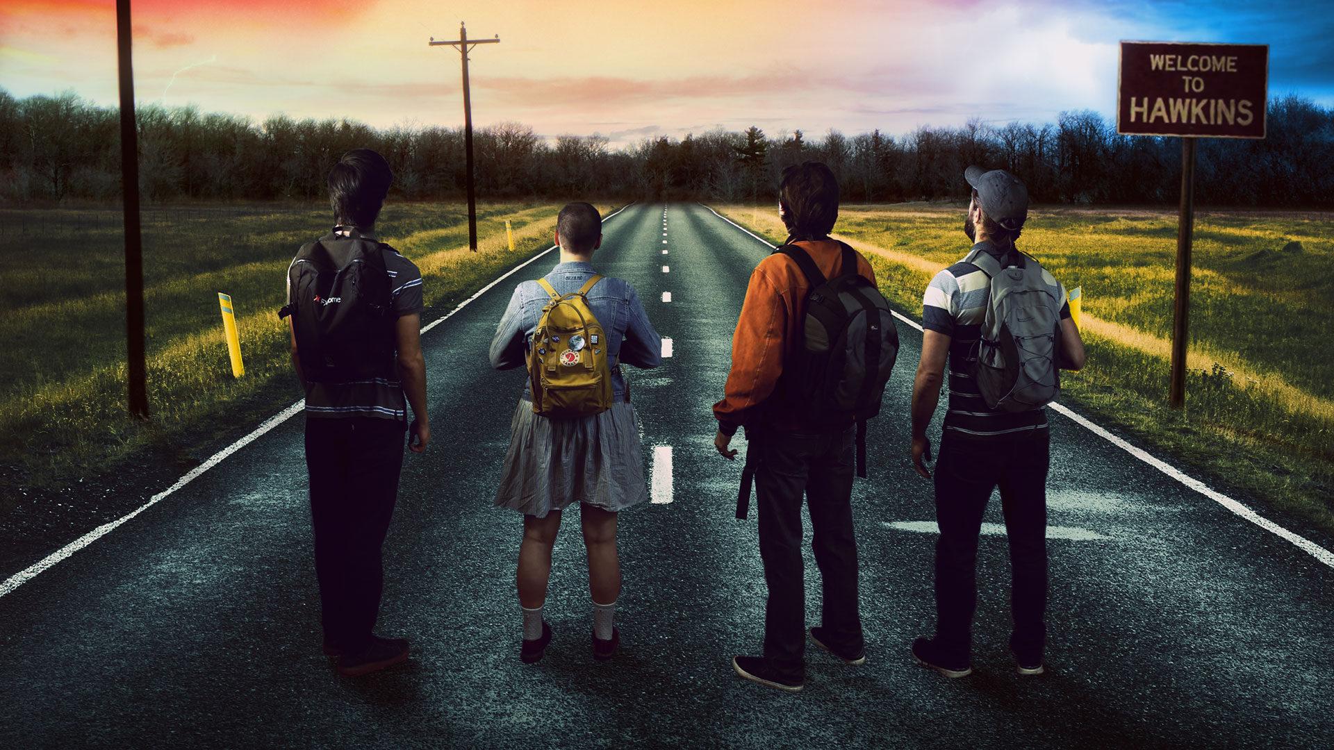 Stranger Things-inspired poster - Imerge Pro 4 Blog
