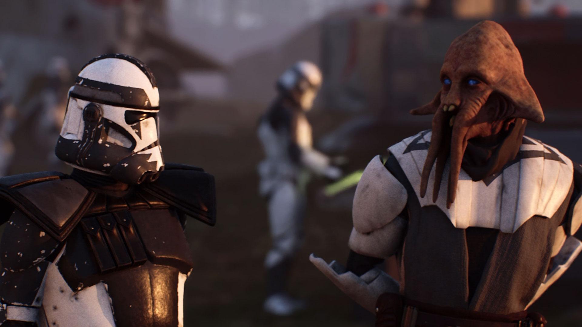 Loacher productions Betrayal 3D Star Wars fan film