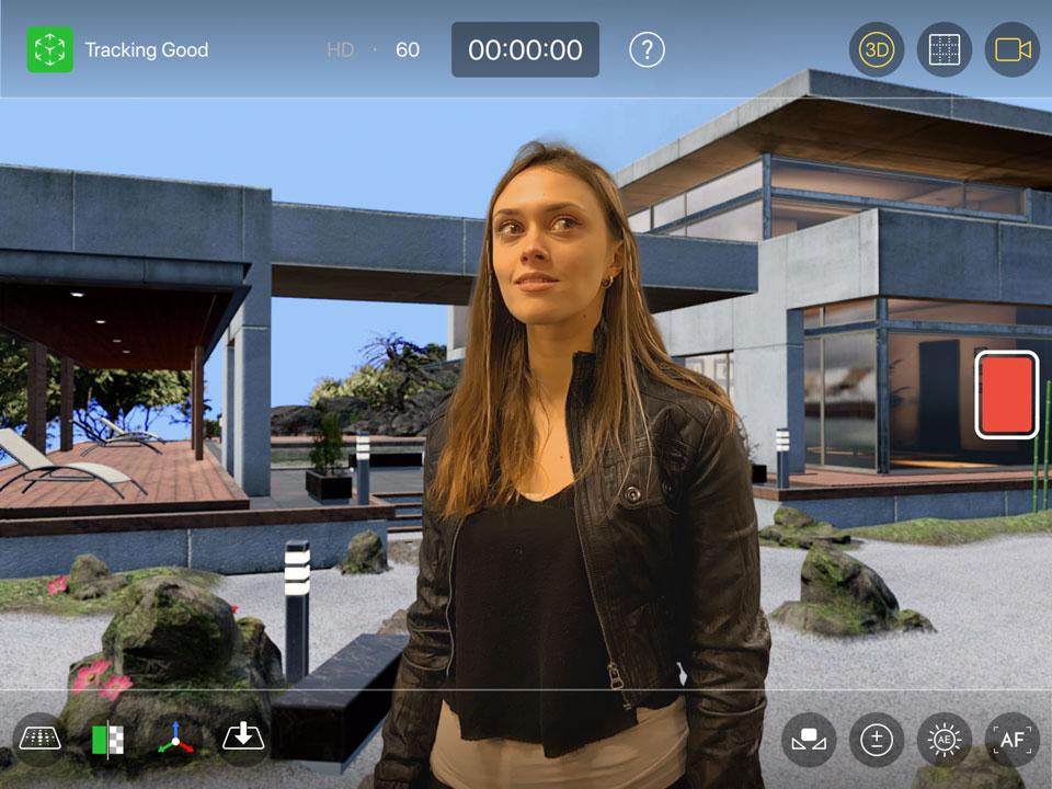Previz tools including 3D model import