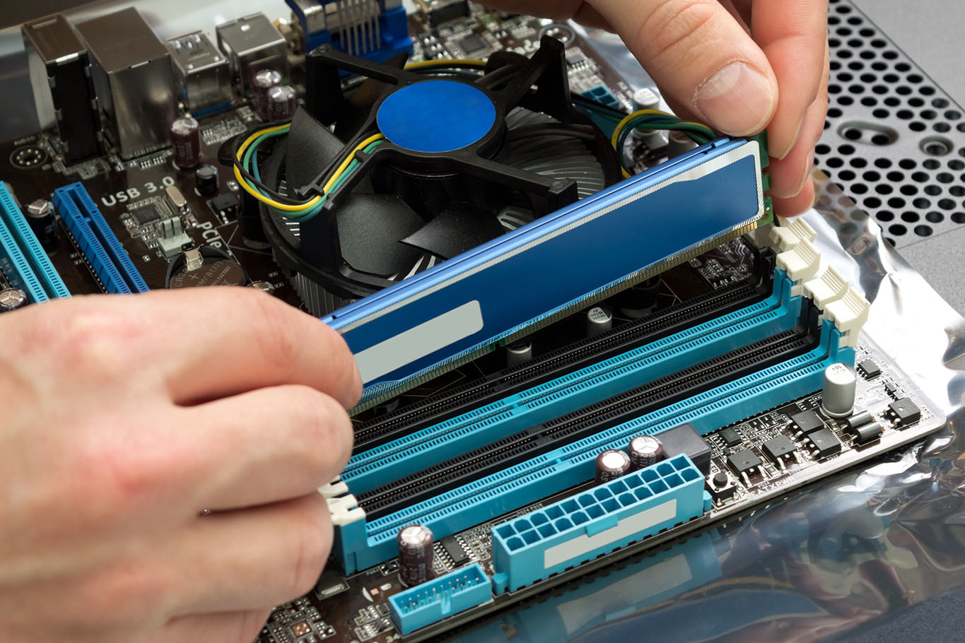 Memory (RAM) - Components to consider when looking for the best computer for video editing
