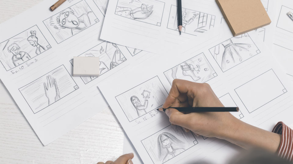 storyboarding - The 3 stages of pre-production