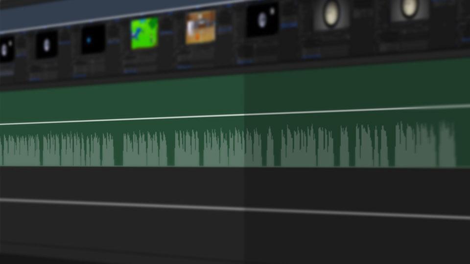 Audio Waveform - HitFilm 6.1