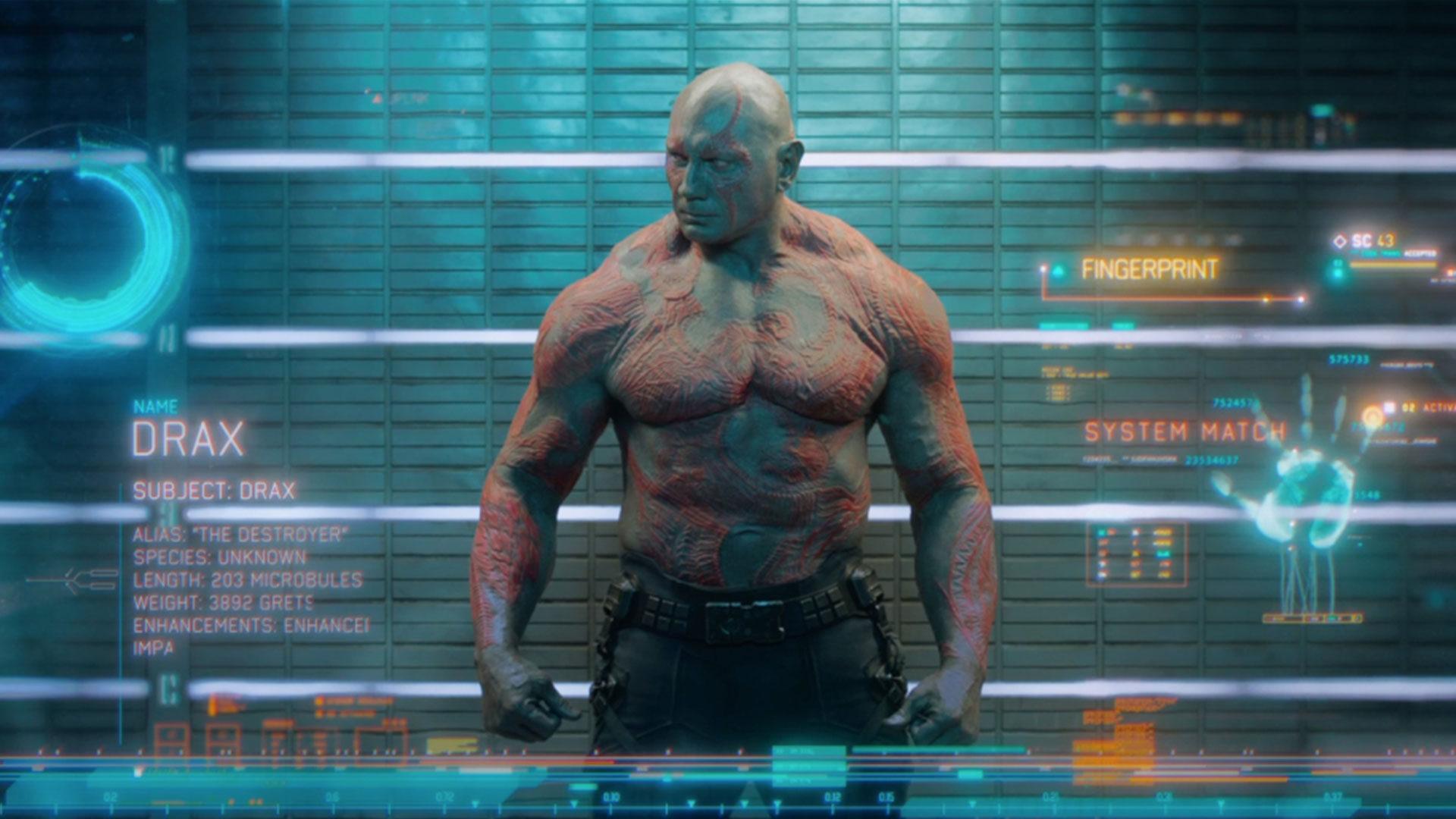Drax Marvel's Guardians of the Galaxy Territory Studios