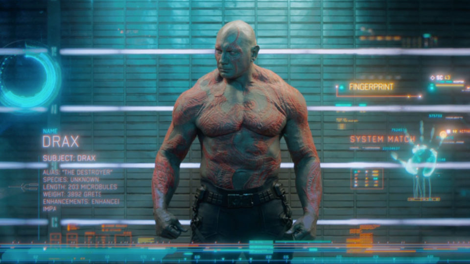 Drax Marvel's Guardians of the Galaxy Territory Studios