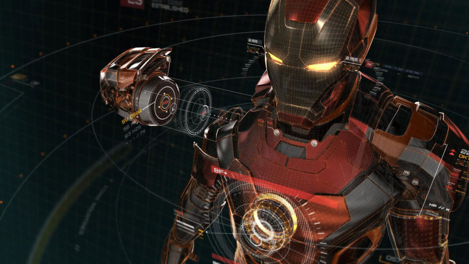 Age of Ultron Iron Man blueprints design