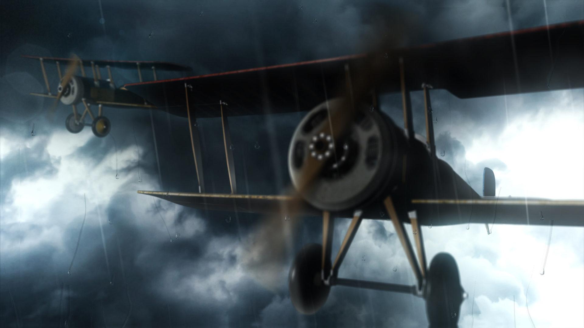 3D plane model VFX in storm - Talking HitFilm with Javert Valbarr