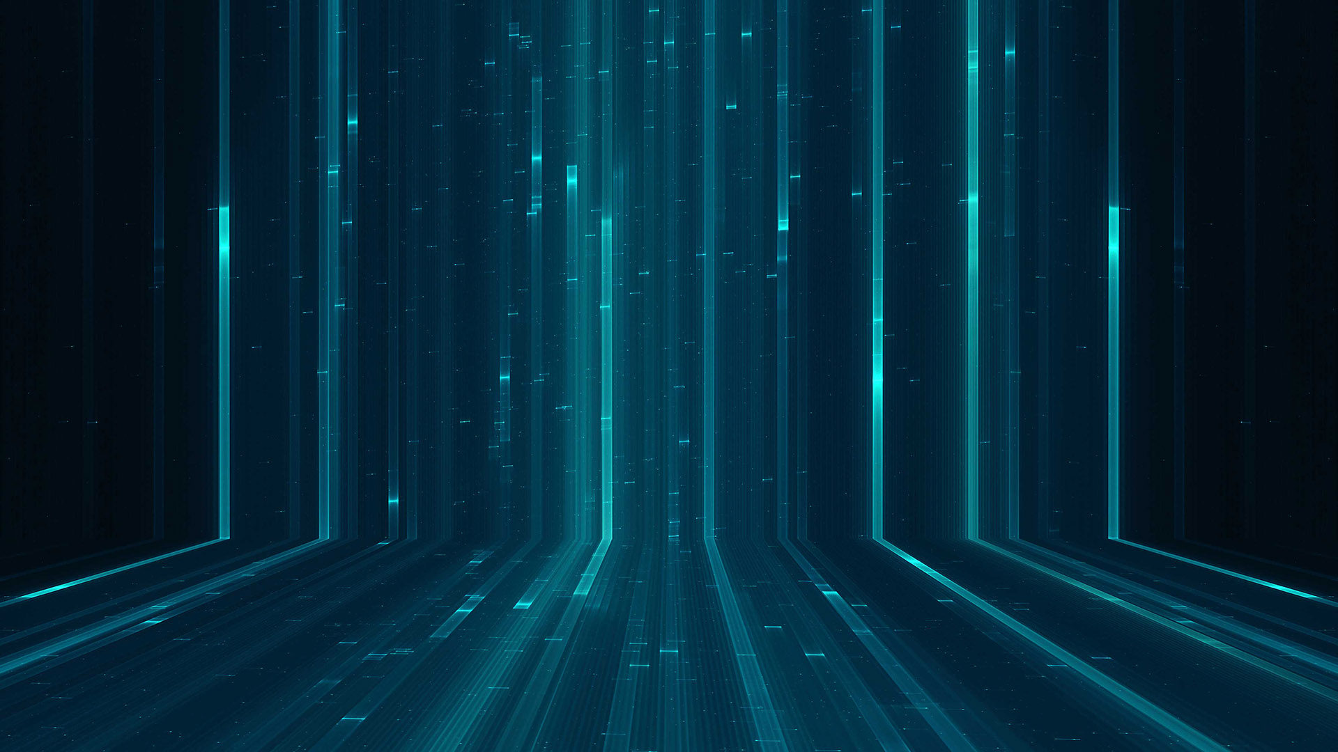Matrix digital environment effect