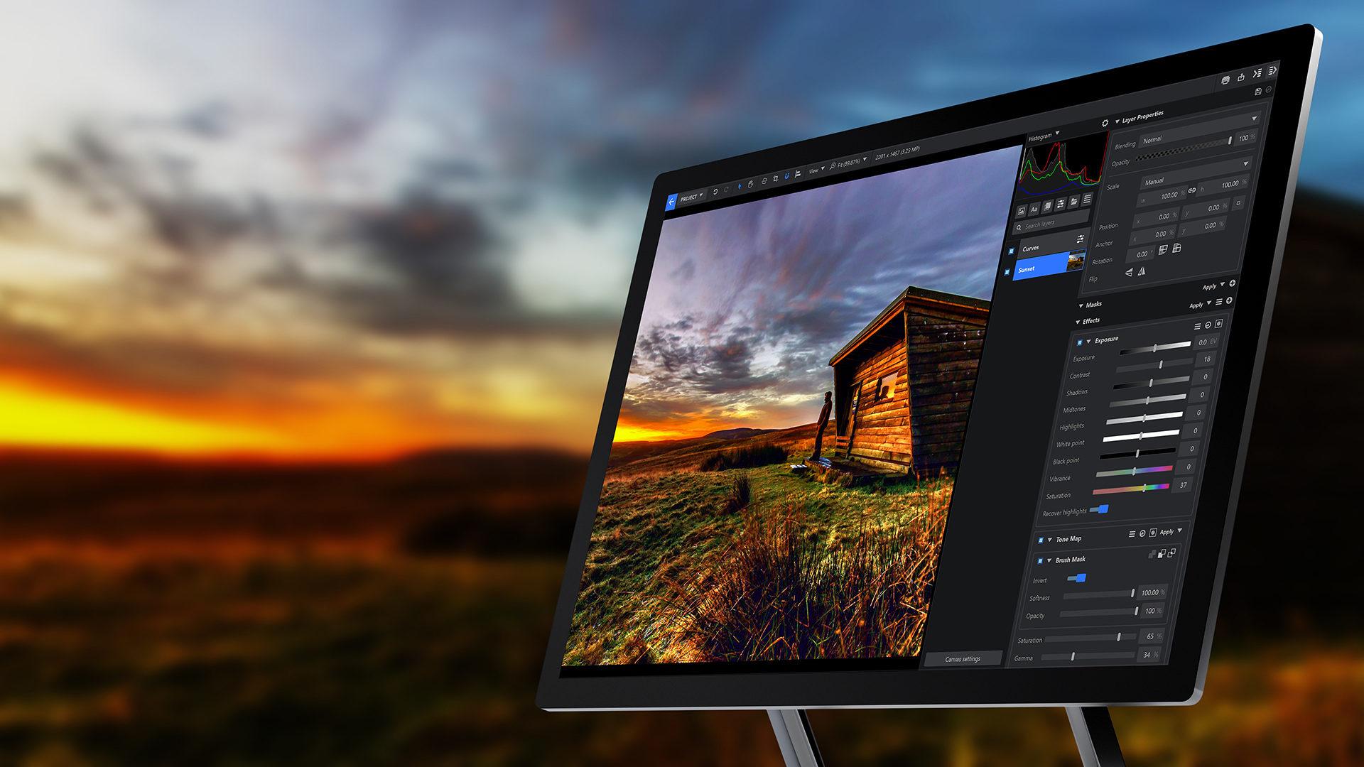 Imerge Pro 7 interface on desktop PC monitor - Imerge Pro 7 Release