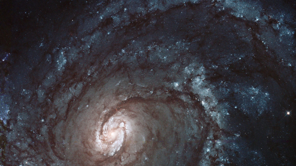 Galaxy Swirl Hubble Telescope - HitFilm Pro