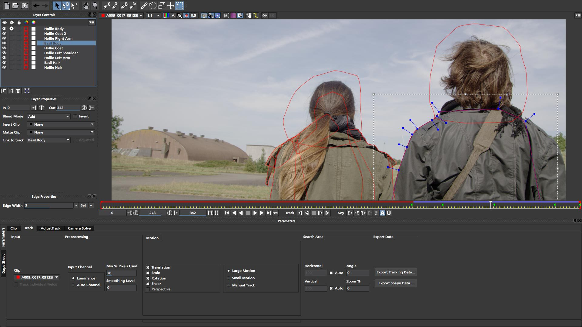 Rotoscoping in Mocha HitFilm - how to consider rotoscoping when filming a visual effects shot