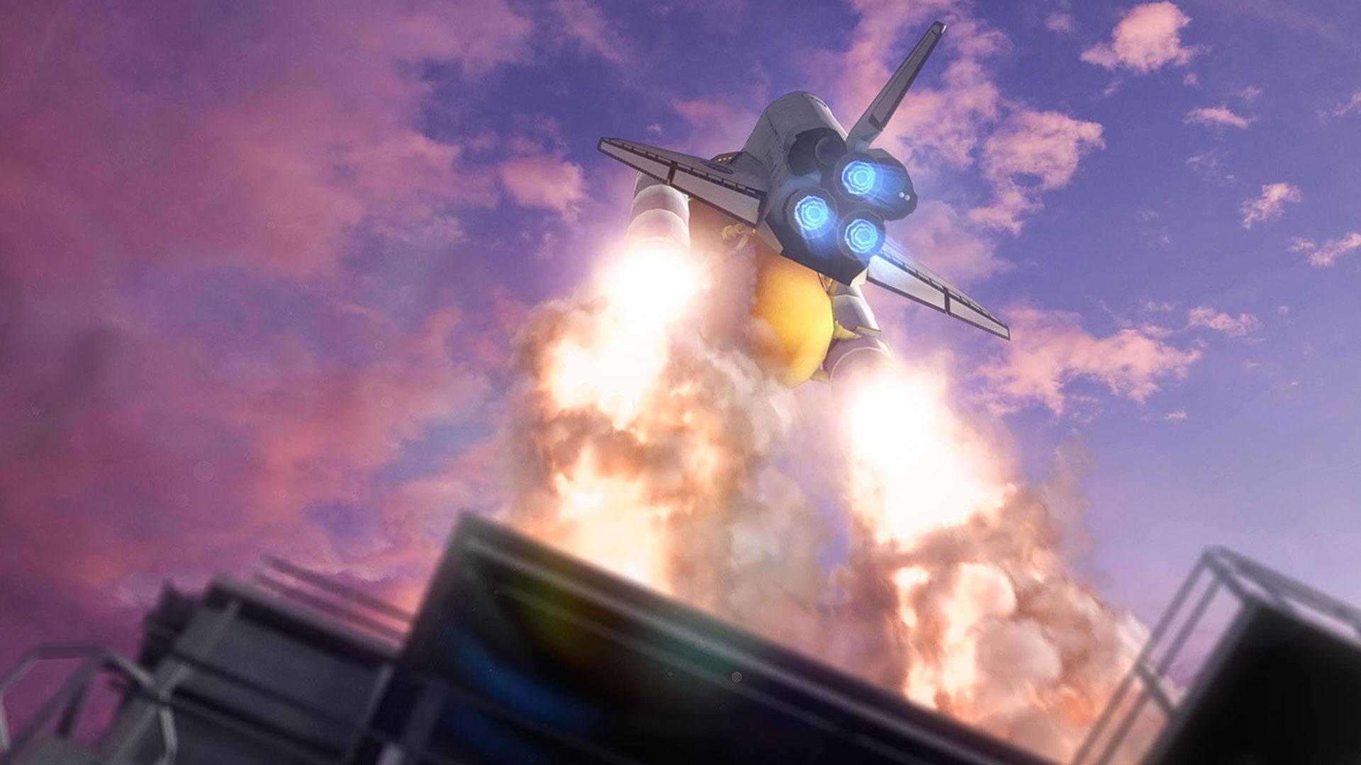 3D space shuttle mockup