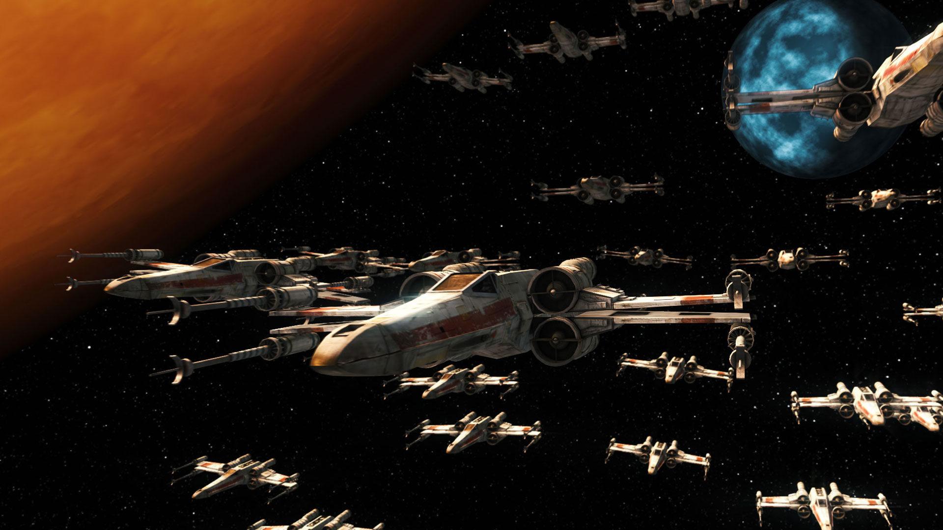 Starfleet render in space HitFilm 4 Pro