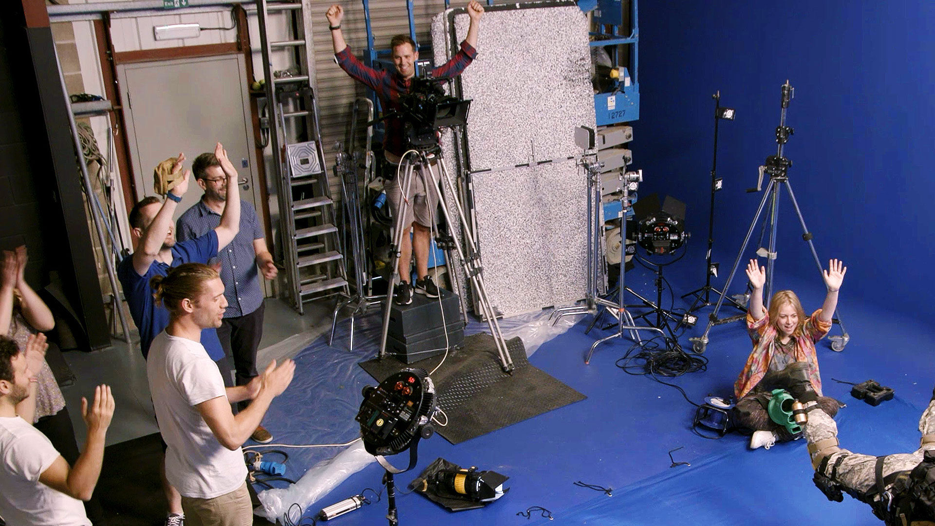 The 3 stages of film production - production (keeping your crew happy)