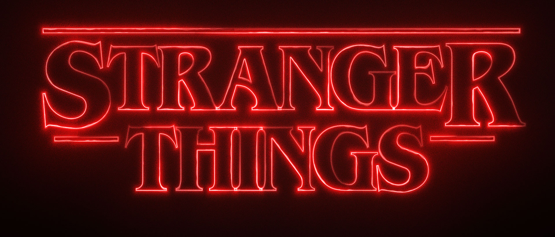 Stranger Things-inspired neon title effect in HitFilm Express
