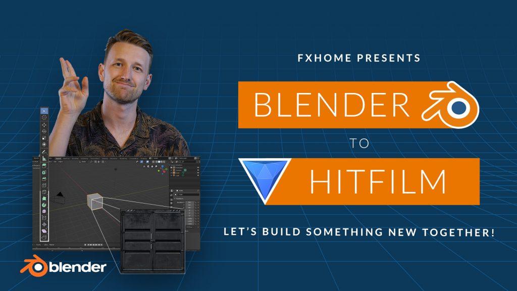 Blender to HitFilm Blender VFX course banner