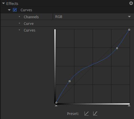 Curves Effect - HitFilm Pro