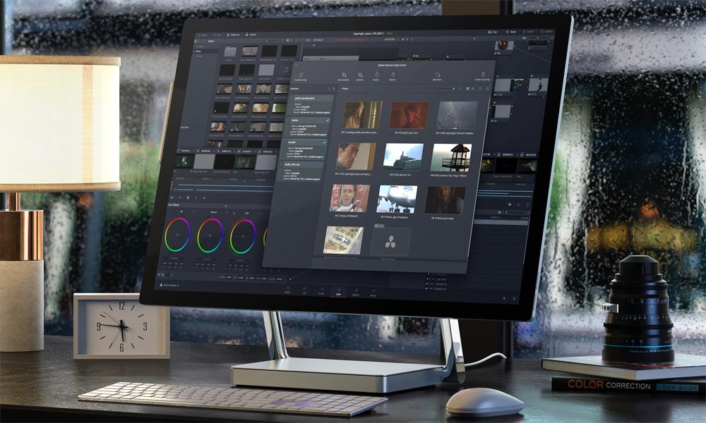 DaVinci Resolve - editing software