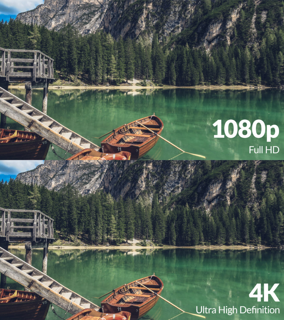 4K vs 1080p images comparison - how important is 4K in 2021?