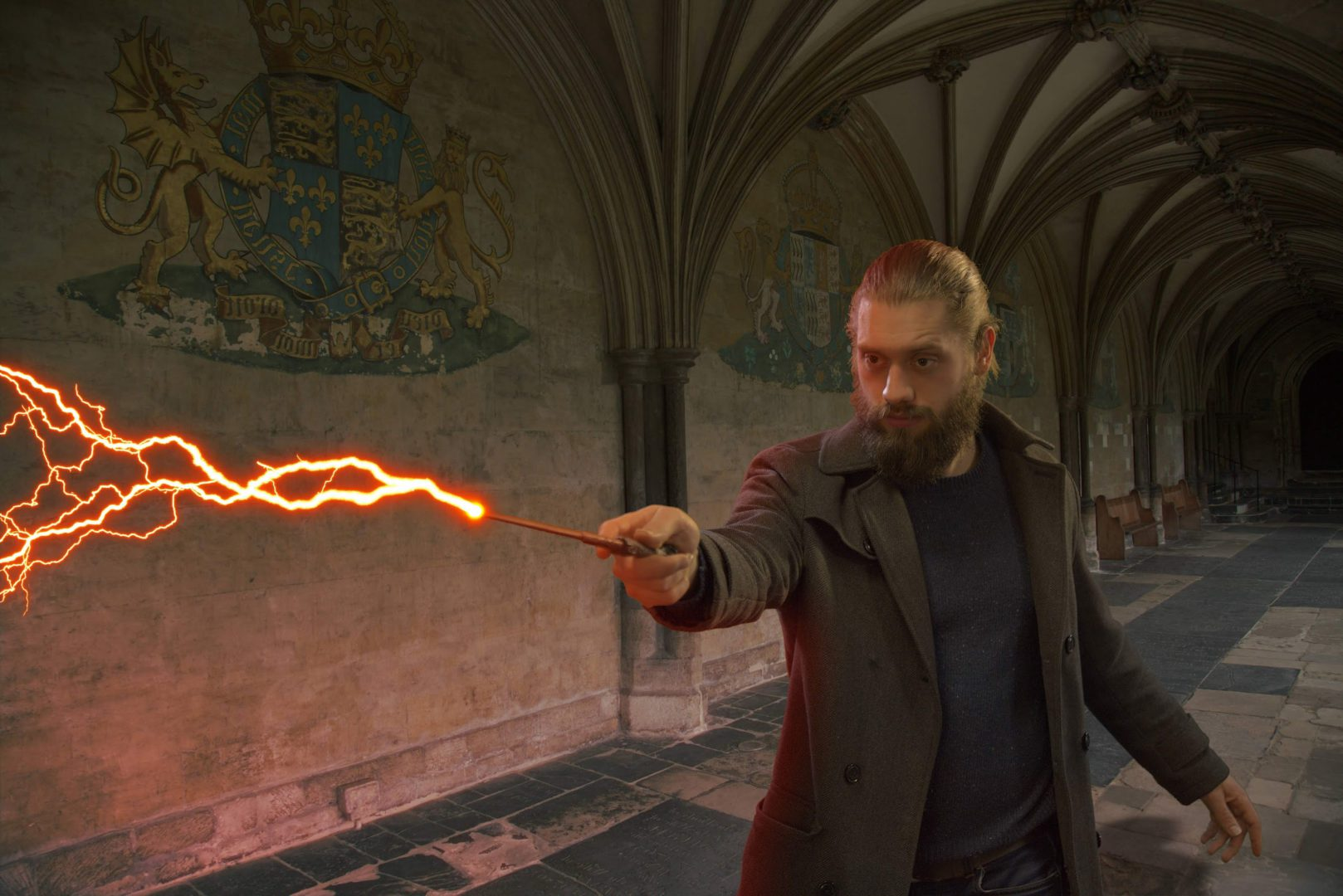 New glow effect in Imerge Pro 4 - Harry Potter-style wizard effects