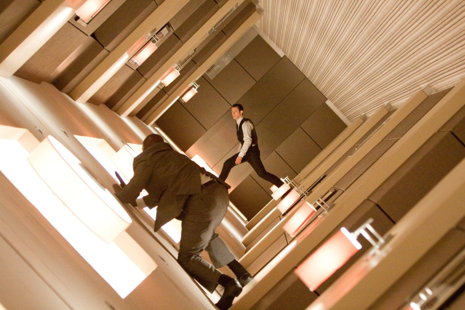Inception hallway scene
