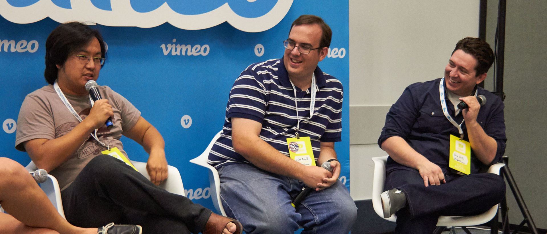 RocketJump at the Vimeo panel at VidCon
