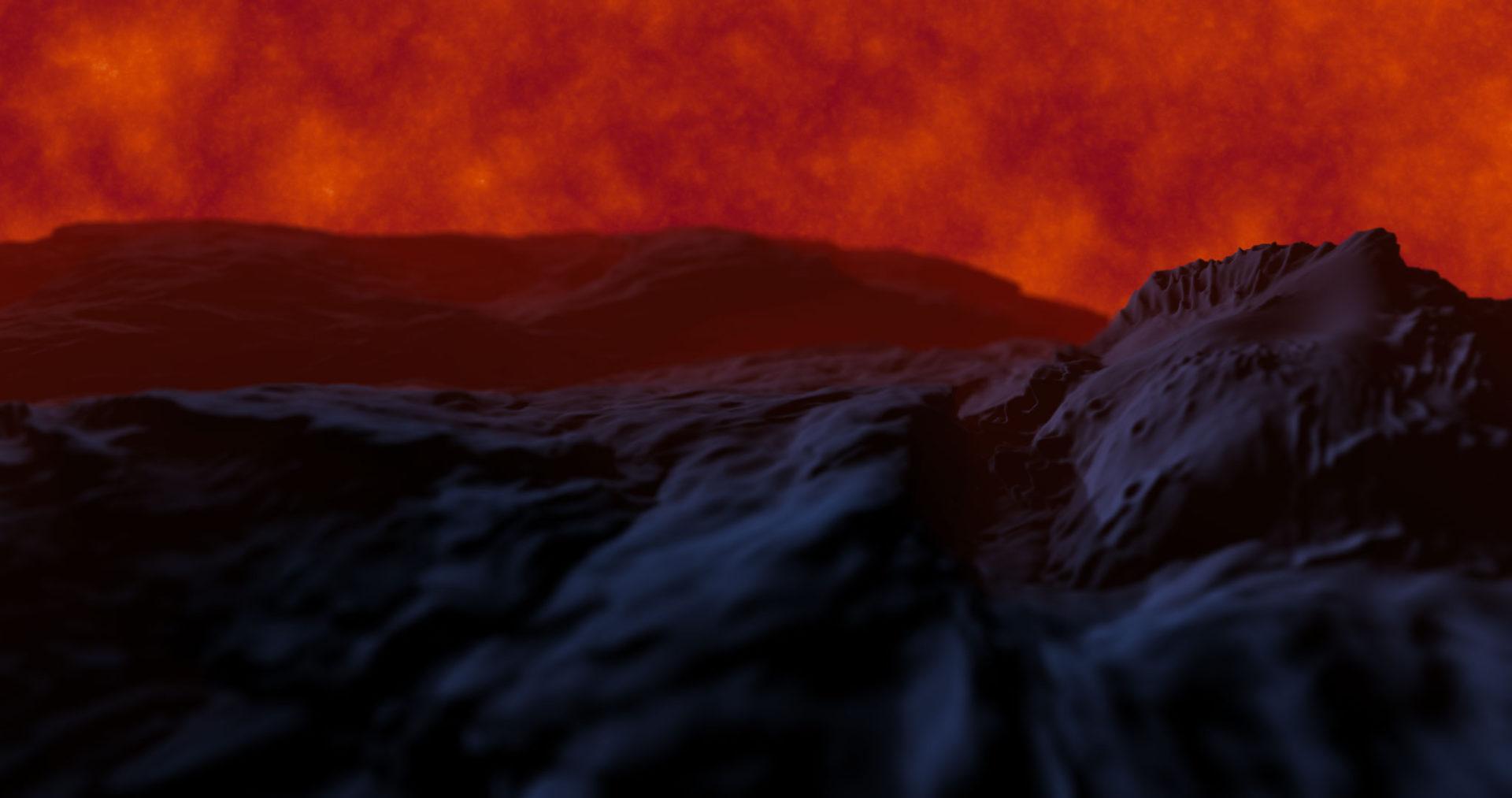 Lava sky background