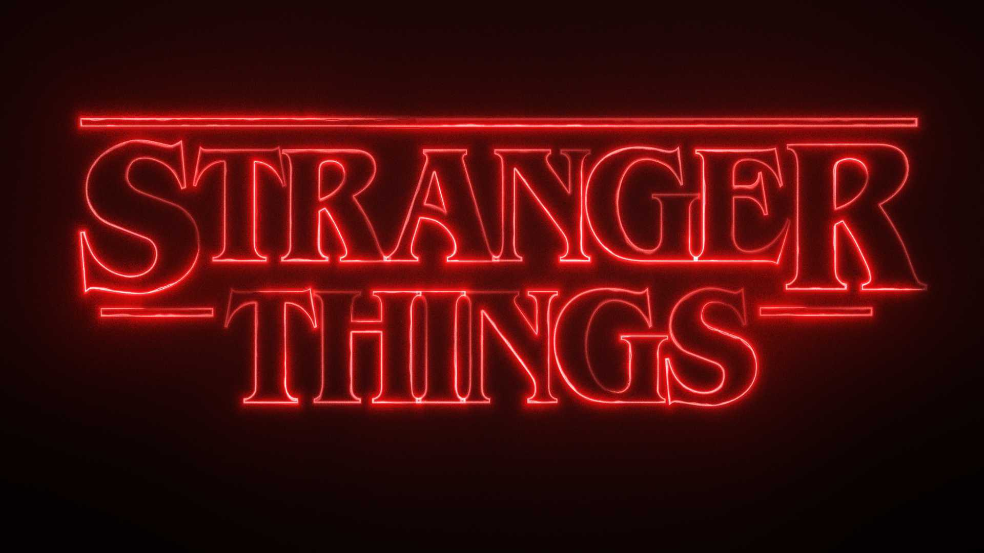 Stranger Things-style neon title effect in HitFilm Pro