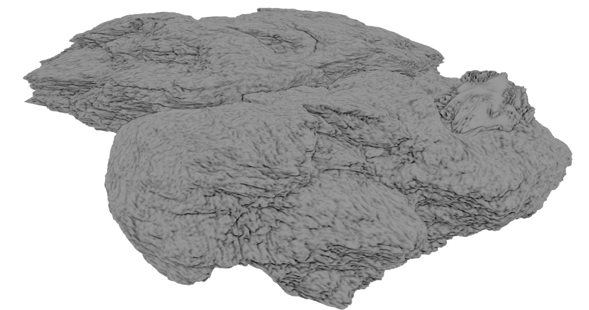 3D surface assets