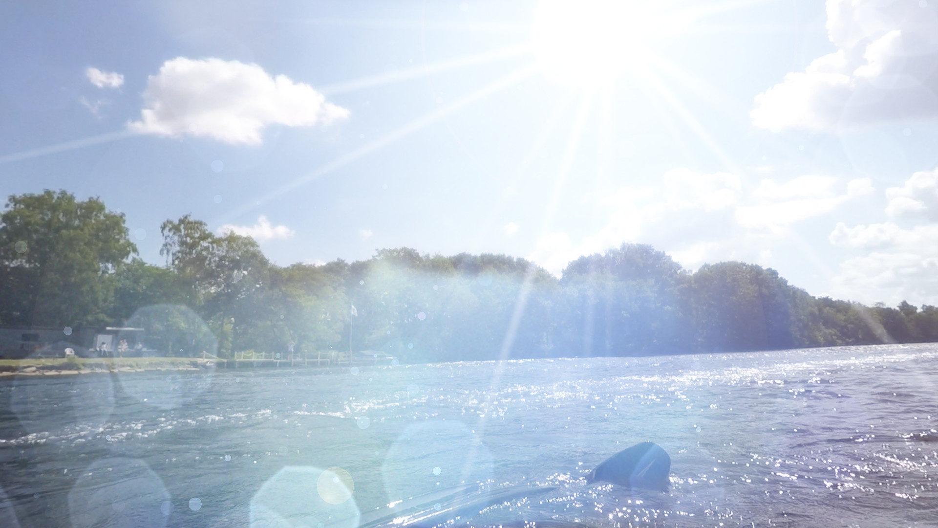 GoPro lens footage - adding flares