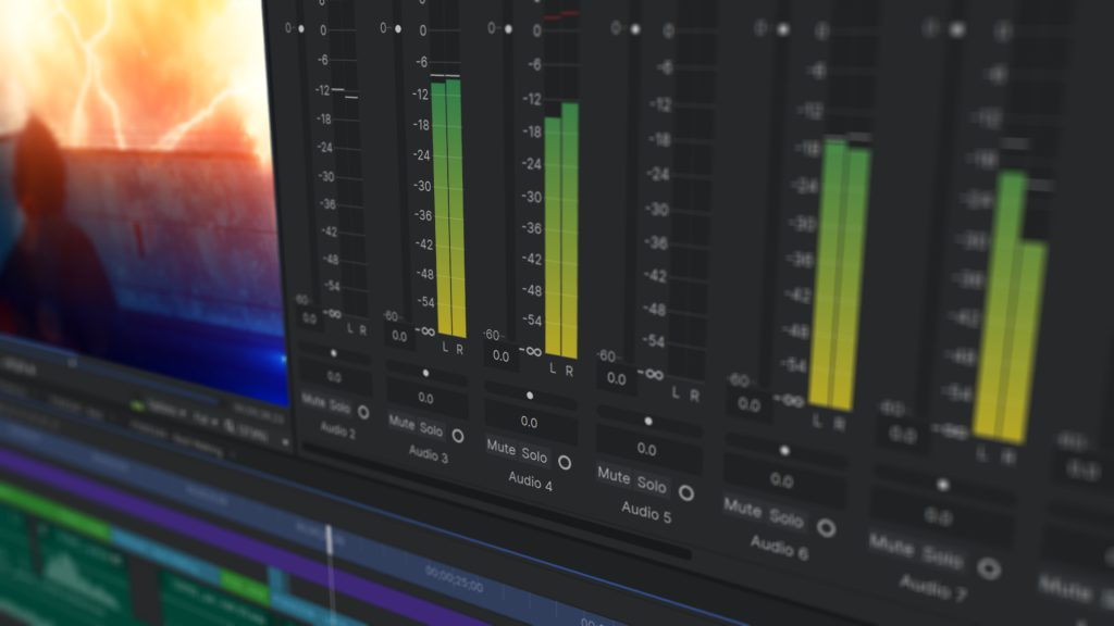 The 3 stages of film production - post-production (audio)