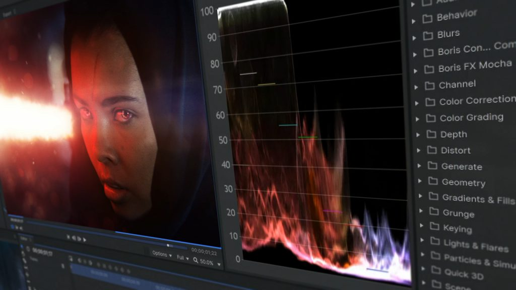 The 3 stages of film production - post-production (color grading)