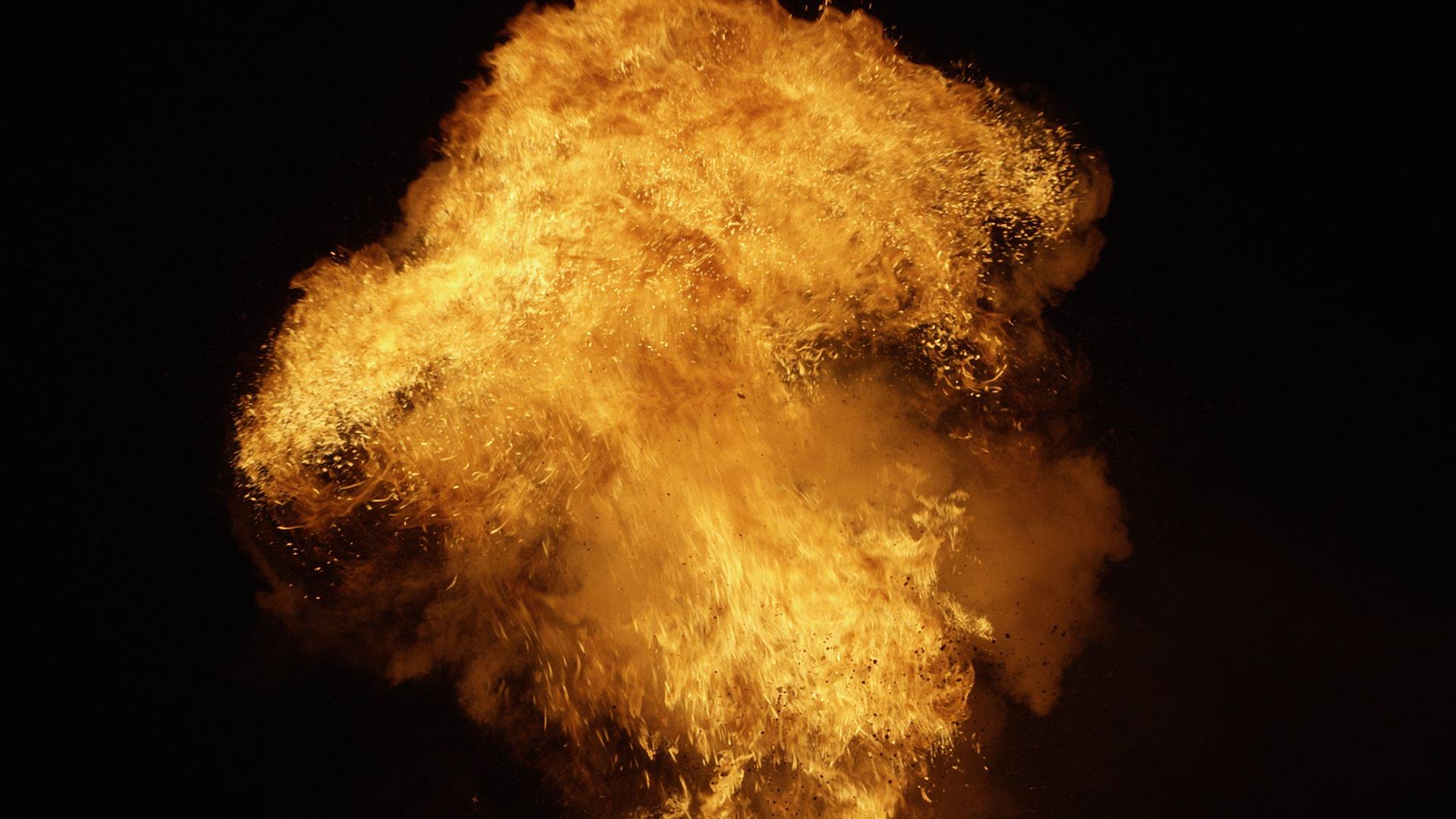 Chroma Key Explosion - before