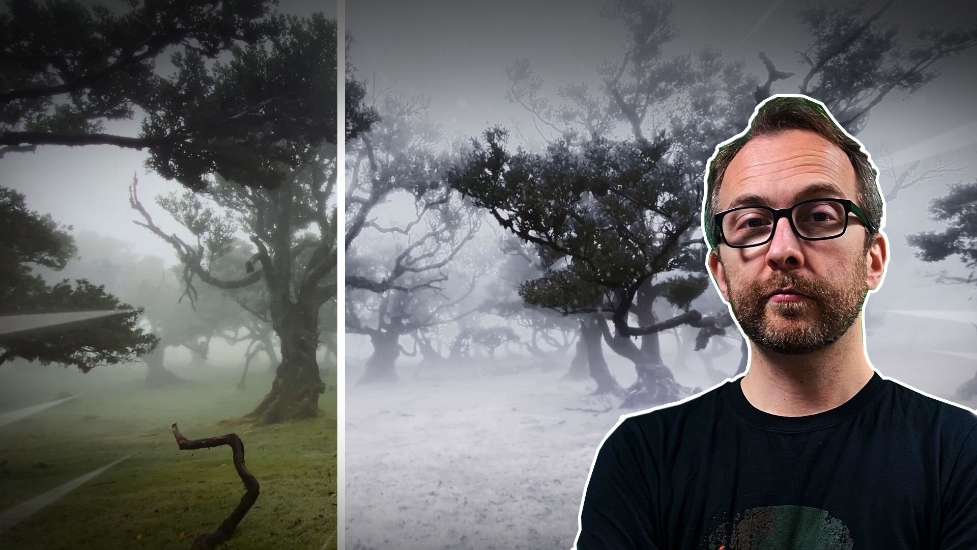 Winter wonderland weather change VFX tutorial