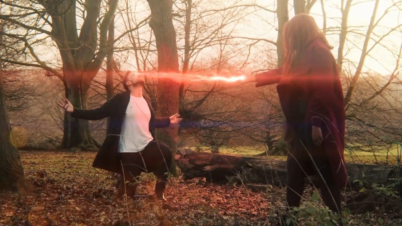 Magic effects Scarlet Witch effect