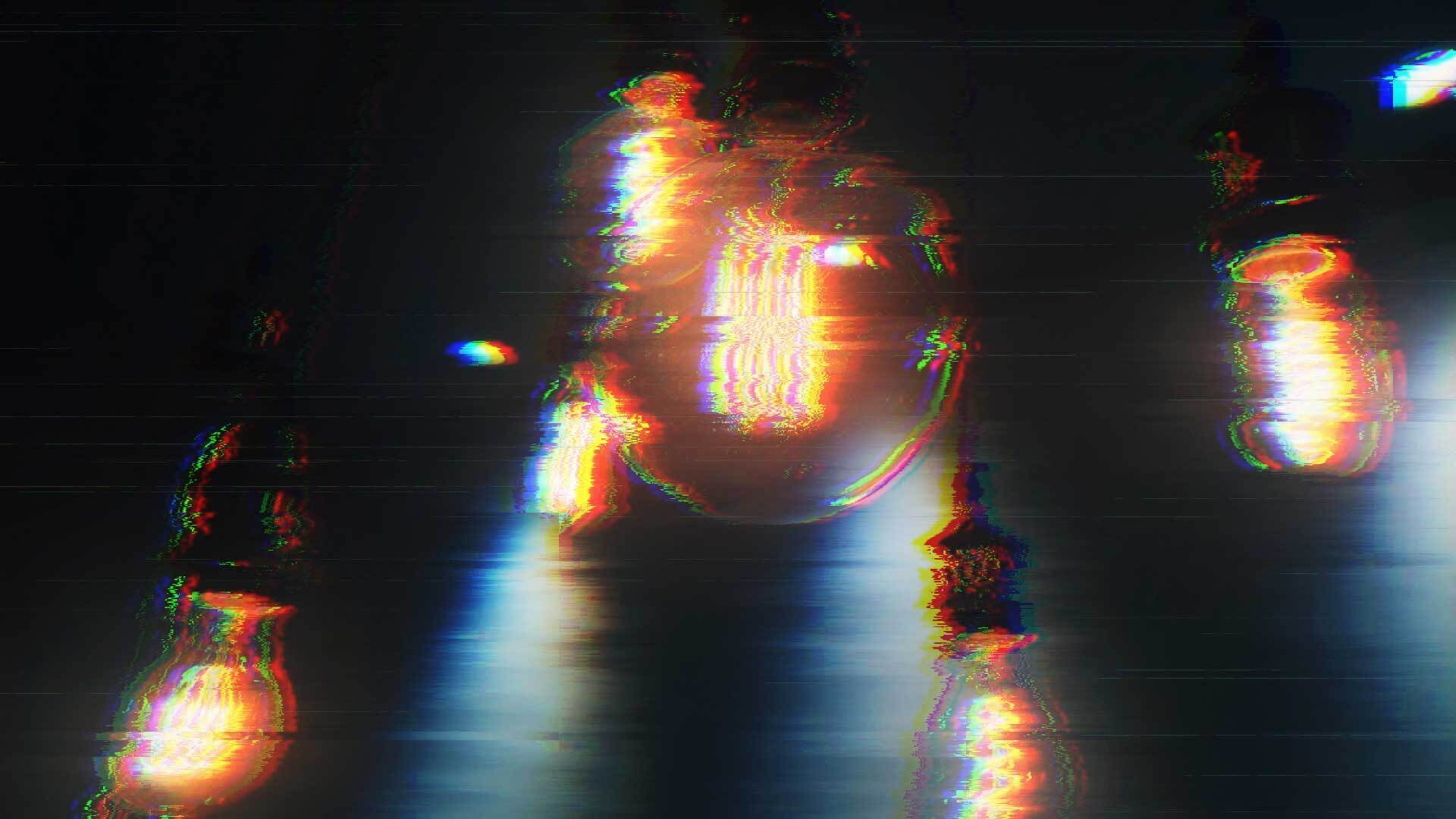 Lightbulbs with Chromatic Aberration effect applied in Ignite Pro