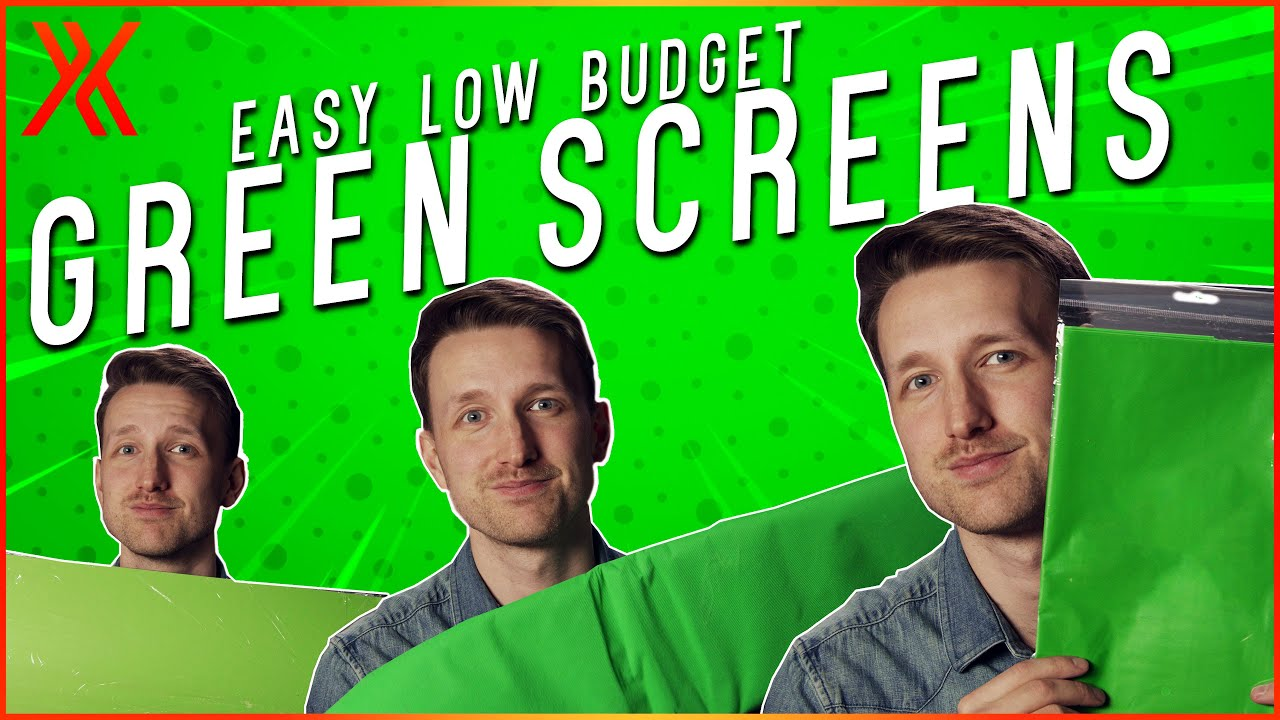 How to make a DIY green screen video thumbnail
