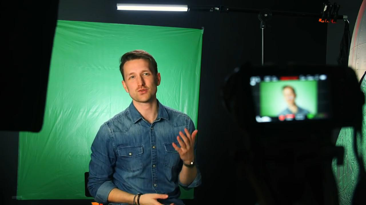 How to make a DIY green screen using party table cloth as an alternative
