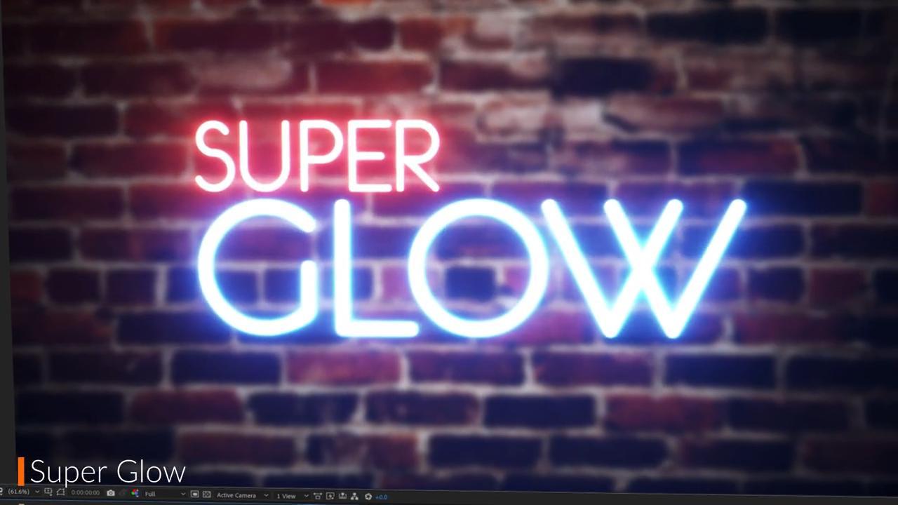 Super Glow effect in Ignite Pro 2021