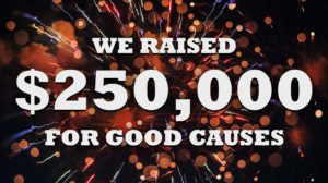 250,000 raised for good causes by the FXhome community