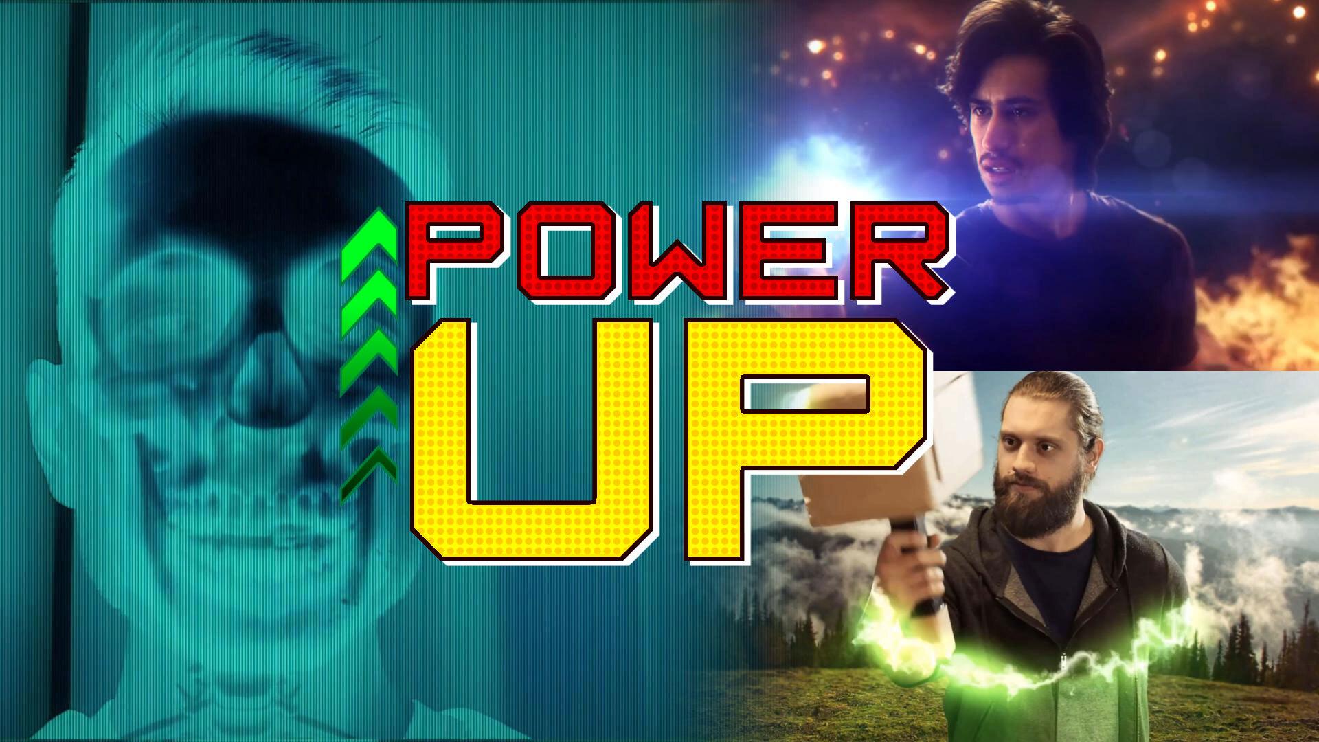Power Up - VFX masterclass thumbnail, X-ray effects, Loki transformation, Thor's hammer and magic energy ball VFX