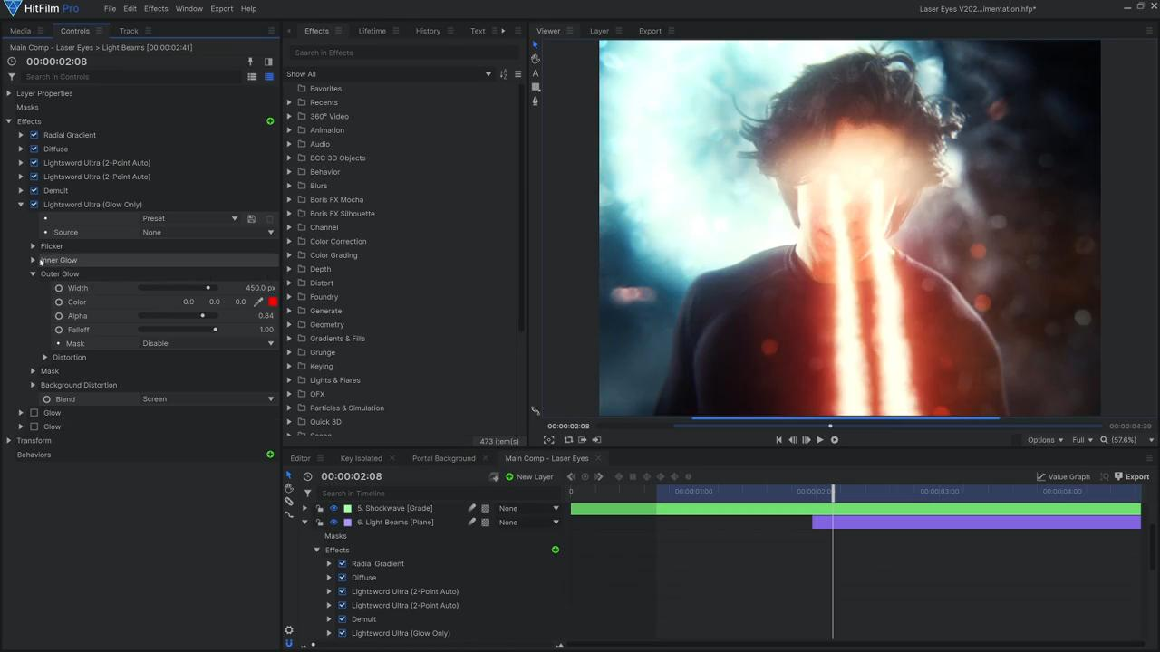 How to create Superman's heat vision effects blog creating the laser eyes