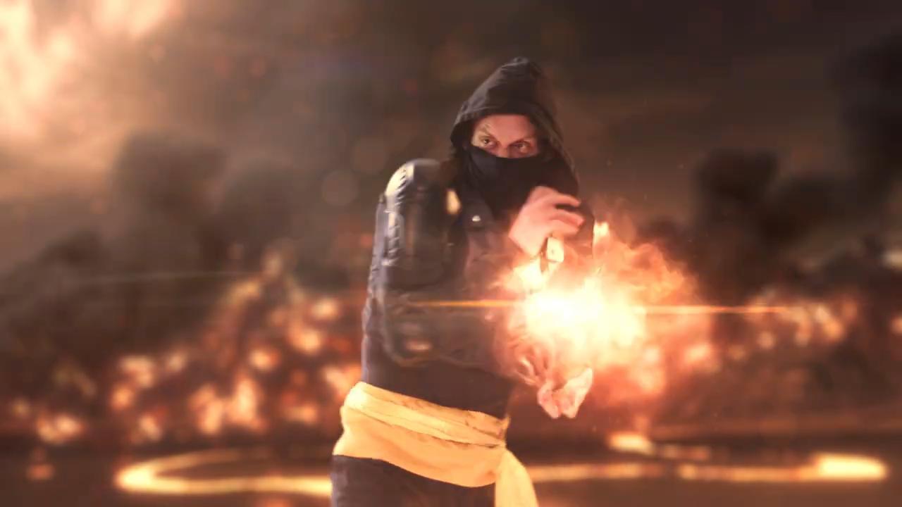How to create Mortal Kombat's Scorpion fireball effects - the final effect