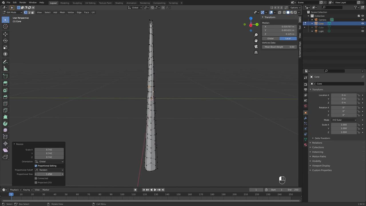 How to create Mortal Kombat's Sub-Zero ice wall effects  - creating icicle