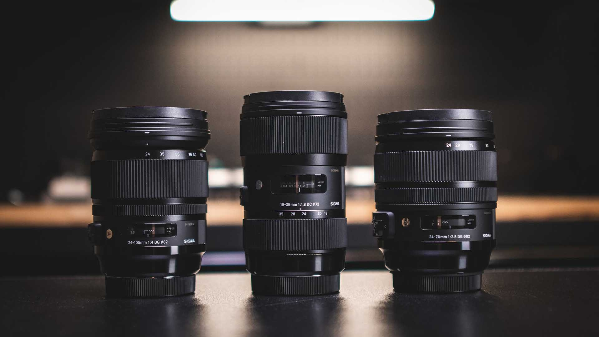 How can focal length affect depth of field - three sigma lenses
