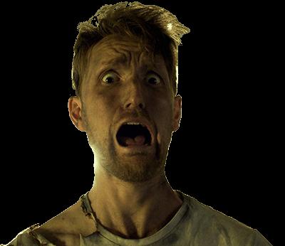 Tom screaming!